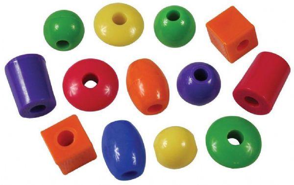 Image of Jumbo lærings perler 720stk - Bigjigs Perler 670125 (380-670125)