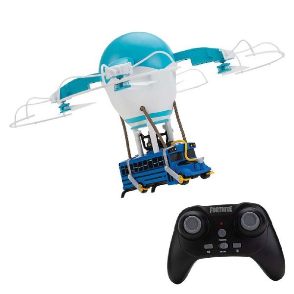 Image of Fortnite Battle Bus Drone - Fortnite Fjernstyret playset FNT0119 (383-000119)
