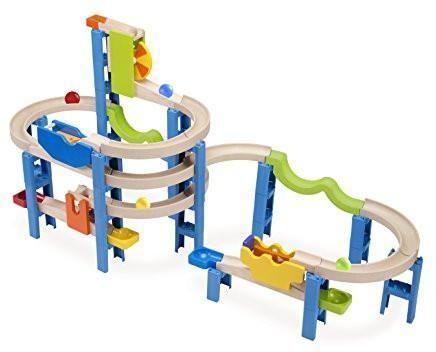 Kuglebane Spiral Coaster Track - Wonderworld kuglebaner 170146 - Trælegetøj - Wonderworld
