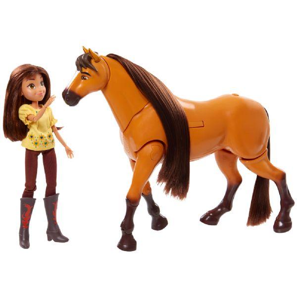 Image of   Spirit Deluxe Spirit med Lucky - Spirit heste figurer 39275