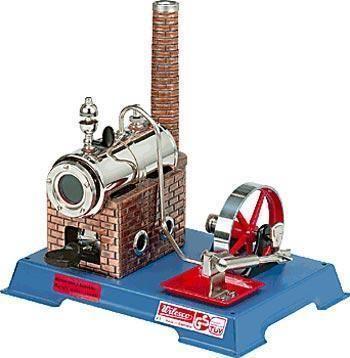 Image of Wilesco D5 dampmaskine byggesæt D6 - Wilesco dampmaskiner D05 (40-0000D05)
