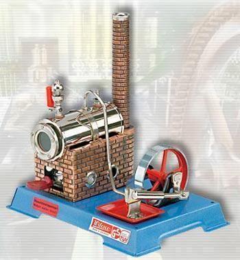 Image of Dampmaskine D6 kedel 135 ccm - Wilesco dampmaskiner D06 (40-0000D06)