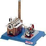 Image of Dampmaskine D10 kedel 155 ccm - Wilesco dampmaskiner D10 (40-0000D10)