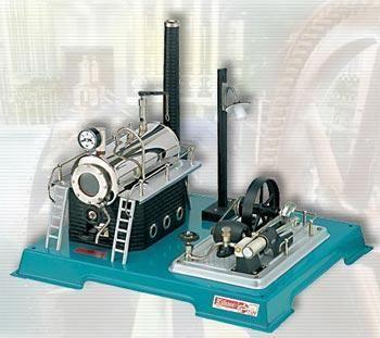 Dampmaskine d18 kedel 500 cm - wilesco dampmaskiner d 18 fra wilesco fra eurotoys