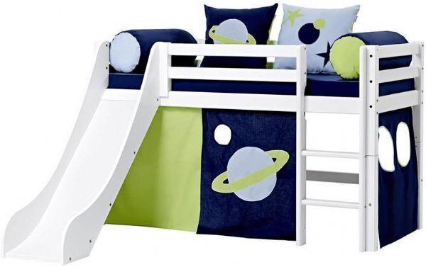 Halvhøj seng 70x160 cm - Hoppekids Space Seng 101236 - Børneseng - Hoppekids