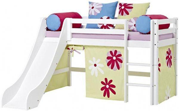Halvhøj seng 70x160 cm - Hoppekids Butterfly Seng 102121 - Børneseng - Hoppekids