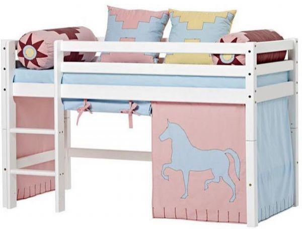 Halvhøj seng 70x160 cm - Hoppekids Indian Girl Seng 102618 - Børneseng - Hoppekids