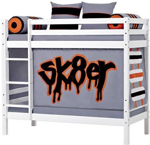 Image of   Etageseng 70x190 cm - Hoppekids Skater Seng 102702