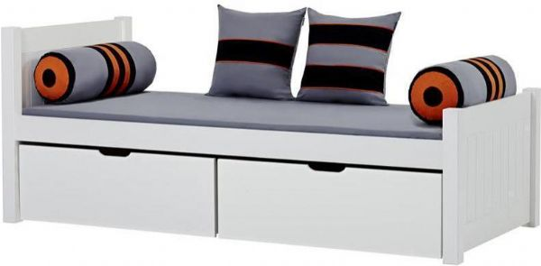 Image of   Deluxe seng m/skuffer 90x200 cm - Hoppekids Skater Seng 102733
