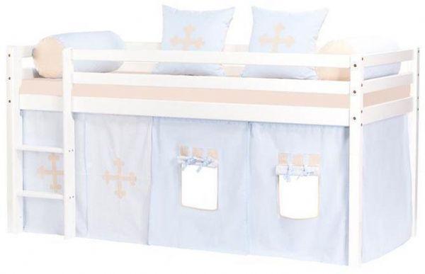 Halvhøj seng 90x200 cm - Hoppekids Fairytale Knight Seng 102903 - Børneseng - Hoppekids