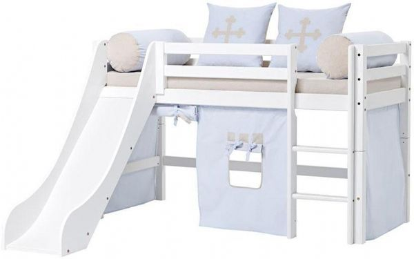 Halvhøj seng 70x160 cm - Hoppekids Fairytale Knight Seng 102916 - Børneseng - Hoppekids