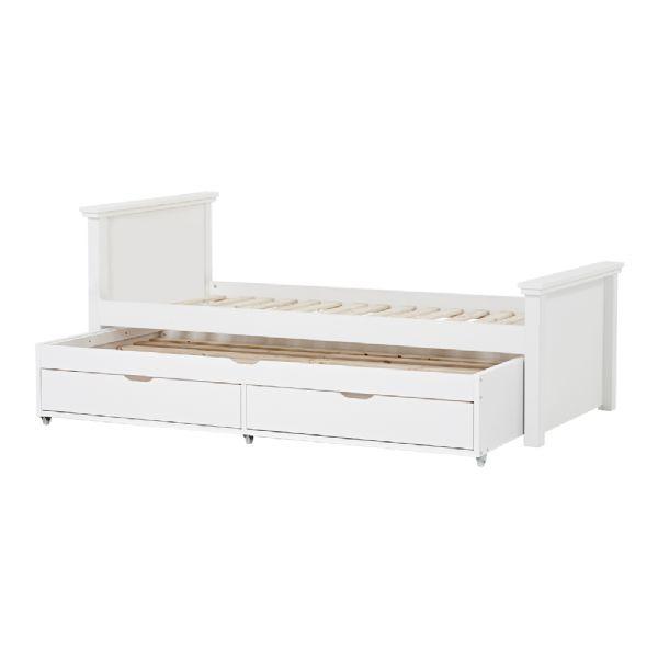 Image of   Deluxe seng m/udtræksseng 90x200 cm - Hoppekids sengeramme 109919