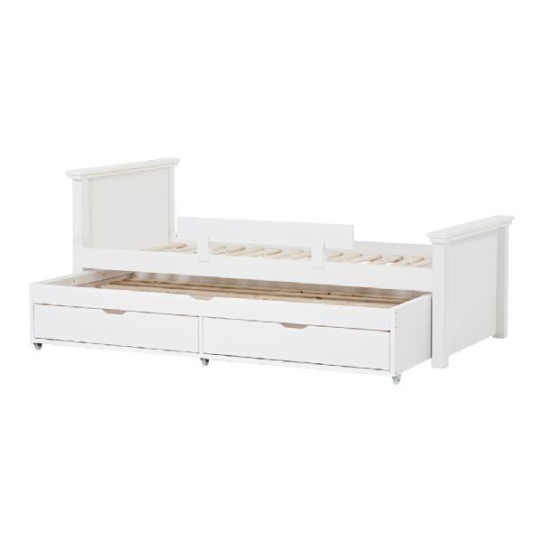 Image of   Deluxe seng m/udtræksseng 90x200 cm - Hoppekids sengeramme 109920