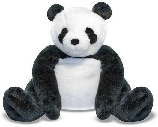 Image of Kæmpe Panda Bamse 70 cm - Melissa and Dough Kæmpe Plysdyr 13990 (411-013990)