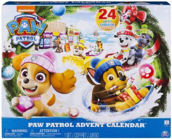 Image of   Paw Patrol Julekalender - Paw Patrol Pakkekalender 45038