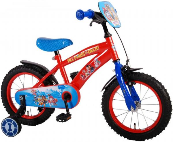 Image of   Paw Patrol børnecykel 14 tommer - Paw Patrol børnecykel 61450
