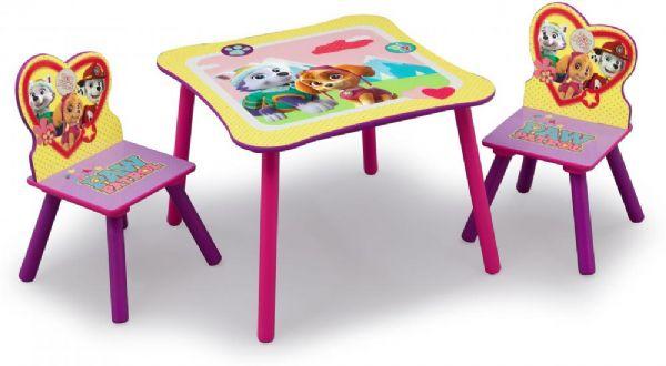 Image of   Paw Patrol bord og stole - Paw Patrol børnemøbler 66703