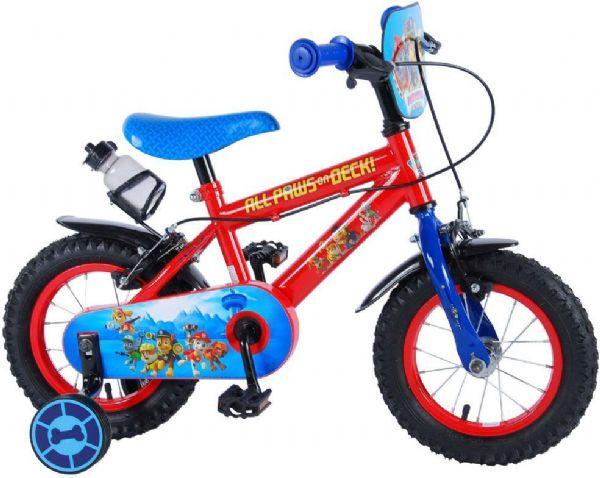 paw patrol Paw patrol børnecykel 12 tommer - paw patrol børnecykel 994272 fra eurotoys