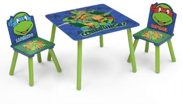turtles Turtles bord og stole - turtles borde og stole 046057 på eurotoys