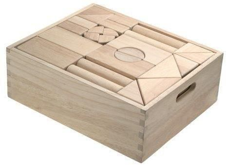 Image of Store byggeklodser i træ - Klodser 10503 (441-010503)