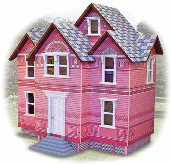 Image of   Stort Victoriansk dukkehus - Melissa & Doug legetøj 12580