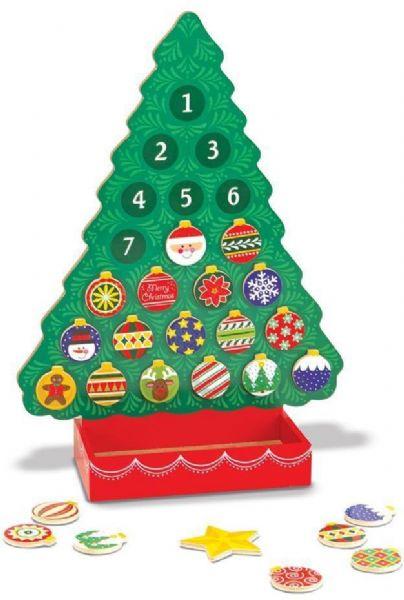 Image of   Nedtælling til jul julekalender - Melissa & Doug legetøj 13571