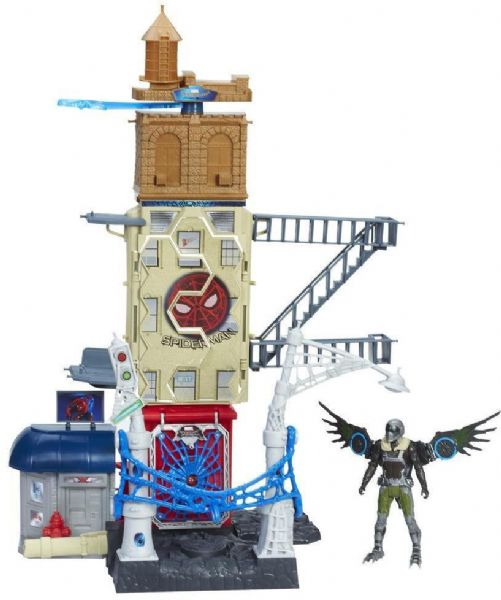 spiderman Spiderman mod vulture playset 56 cm - spider-man homecoming legesæt b9692 på eurotoys