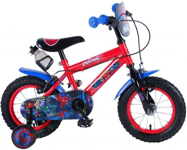 Image of   Spiderman Børnecykel 12 tommer - Spiderman børnecykel 994357