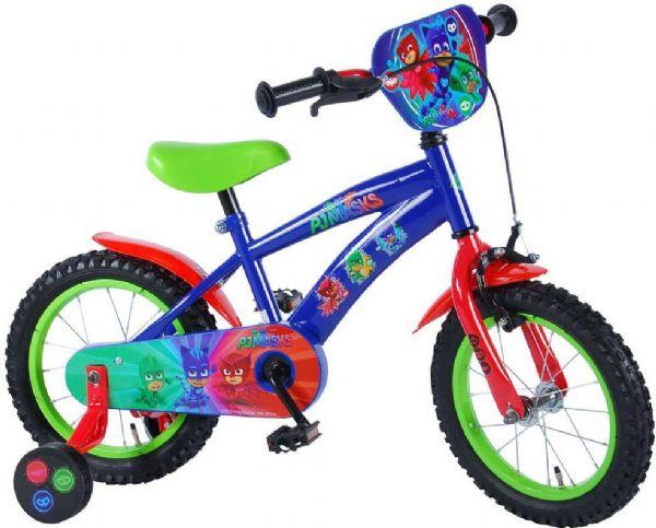 Image of PJ Mask Børnecykel 14 tommer - PJ Mask børnecykel 714634 (455-714634)