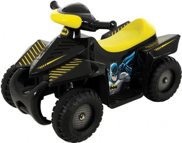 Image of   Batman Elbil 6volt Mini Quad - Batman DC 9355