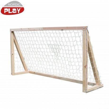Image of   Fodboldmål lille 68x68 - 120x240x60 cm - Nordic Play sport 805520