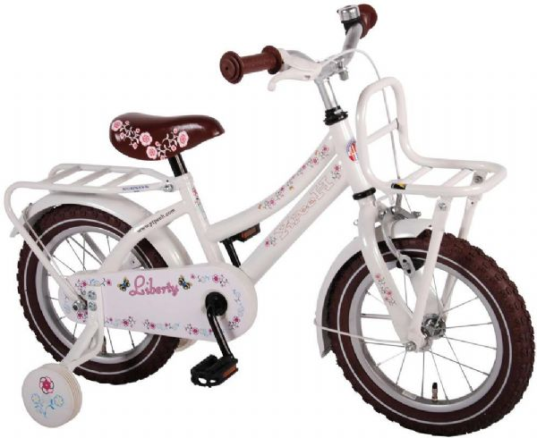 Image of   Børnecykel Liberty Urban hvid 14 tommer - Børnecykel 21428