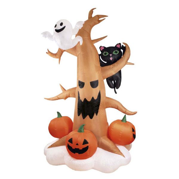 Image of   Oppustelig Halloween Træ - Halloween store dekorationer 91460