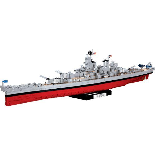 Image of Wows Battleship Iowa - COBI Small Army 3084 (475-003084)