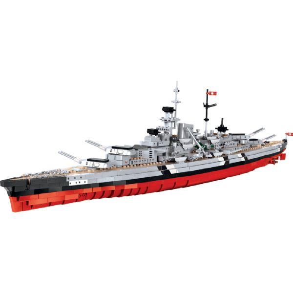 Image of Ws Battleship Bismarc - COBI Small Army 4810 (475-004810)