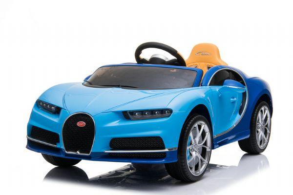 Image of   Bugatti Chiron m. gummihjul 12V - Elbil til børn 000030