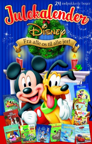 Disney Julekalander m. 24 historier - Disney bog julekalender 862119