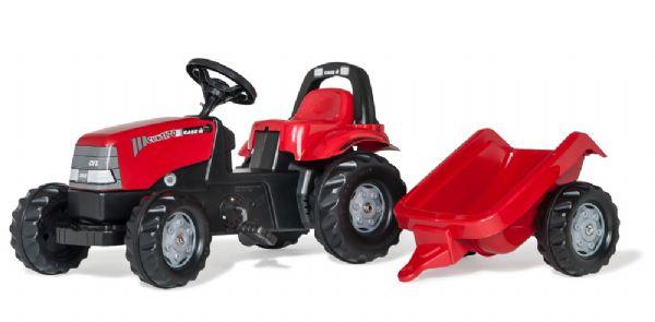 Image of   RollyKid Case CVX 1170 Traktor m trailer - Rolly Toys 12411