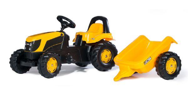Image of   RollyKid JCB med anhænger - Rolly Toys 12619