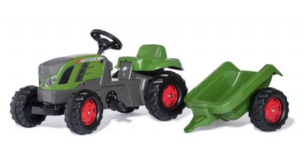 Image of   Rollykid fendt 516 m. anhænger - Rolly toys traktor 13166