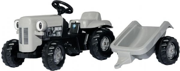 Image of   RollyKid Little Grey Fergie m. trailer - Rolly traktor Gråtass 14941