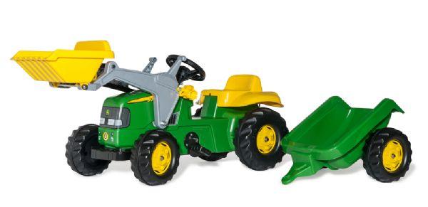 Image of   RollyKid John Deere m/ frontskovl - Rolly Toys 23110