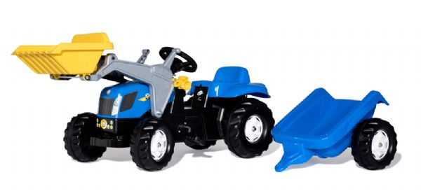 Image of   RollyKid Traktor New Holland - Rolly Toys 23929