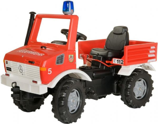 Image of Rolly FarmTrac Classic Fire Unimog - Rolly Toys 36639 (52-036639)