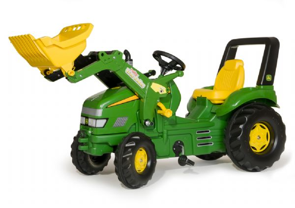 Image of   Rolly X-Trac John Deere m. frontskovl - Rolly Toys 46638