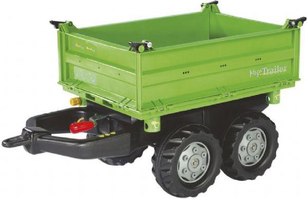 Image of   Rolly Mega Trailer - Rolly Toys Deutz Grøn 121502