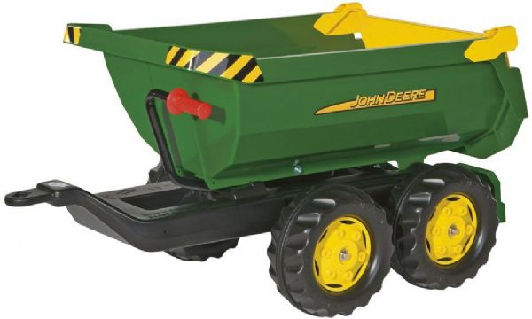 Image of   Rolly Halfpipe John Deere Trailer - Rolly Toys 122165