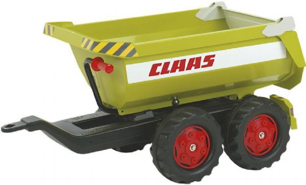 Image of   Rolly Halfpipe CLAAS Trailer - Rolly Toys 122219