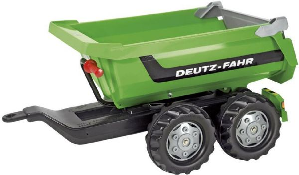 Image of   Rolly Halfpipe Deutz-Fahr Trailer - Rolly Toys 122240