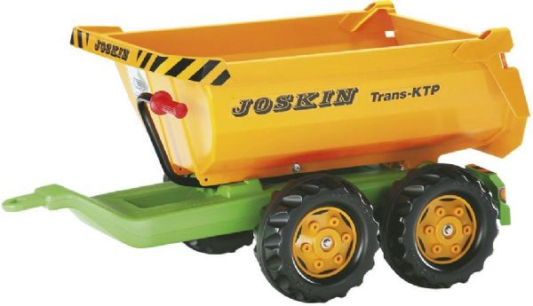Image of   Rolly Halfpipe Joskin Trailer - Rolly Toys 122264